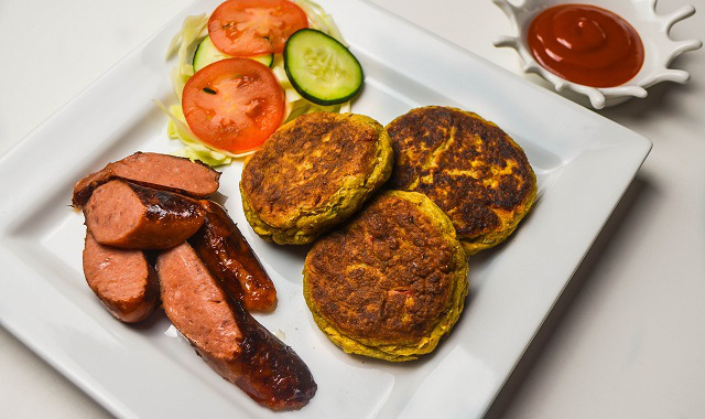 Valentine Inspired Workplace Meal: Plantain Patty