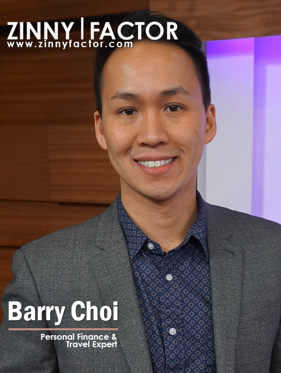 Barry Choi: Travel and Finance Expert -Zinny Factor